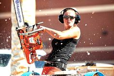 Lumberjills take an axe (and chainsaw) to old stereotypes | The Times