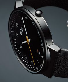 BRAUN Watch BNH0032 Leather
