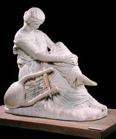 Sappho  --  1852  --  James Pradier  --  French  --  Marble  --  Musée d'Orsay, Paris
