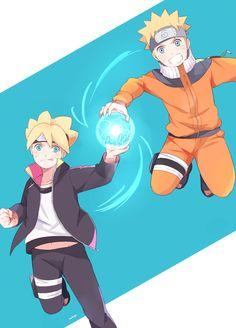Naruto and Baruto