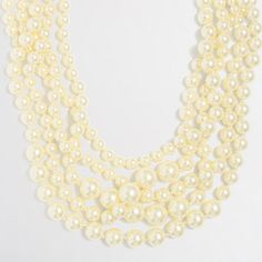 J.Crew+Factory+-+Factory+multistrand+pearl+necklace