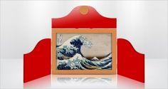 Fabriquer un Butaï : Modèle pour un Kamishibaï Grand Format. A Wooden Butaï Dedicated to A3 format.