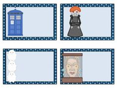 Blank Doctor Who Classroom Labels