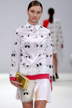 "forlikeminded: ""  Anna K | London Fashion Week | Spring 2015 """
