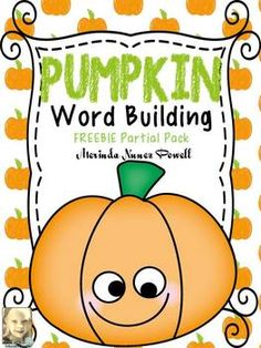 FREE Pumpkin Word Building Activity. Repinned by SOS Inc. Resources pinterest.com/sostherapy/.