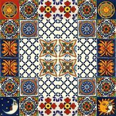 Płytki Meksykańskie - Galeria projektów Kitchens, Quilts, Blanket, Quilt Sets, Kitchen, Blankets, Log Cabin Quilts, Cuisine, Cover