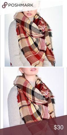 Coming Soon‼️New Arrivals ‼️Plaid scarf/wraps Brand New , Plaid scarf/wraps Accessories Scarves & Wraps