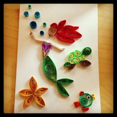 mermaid quilling - Google Search