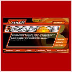 Año 2001 - DIMS crea el primer sitio web de la discoteca Basilón de San José