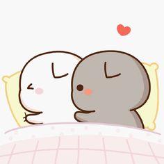 Cute Kawaii Animals, Kawaii Cat, Kawaii Chibi, Cute Chibi, Kawaii Anime, Kawaii Room, Cute Love Pictures, Cute Love Gif, Beautiful Pictures