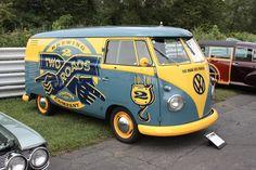 Image may have been reduced in size. Click image to view fullscreen. Vw Kombi Van, Volkswagon Van, Volkswagen Minibus, Vw T1, Volkswagen Type 2, Combi Ww, Retro, Van Wrap, Cool Vans