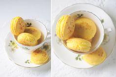 Lemon Sherbet Macarons by Juniper Cakery