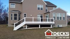 """It's not too late to get a new deck for your home built for this summer. Call us to learn more about your options and get a quote today! Anne Arundel MD Deck Contractor – ARH Decks (410) 718-0388 (pic below)"""