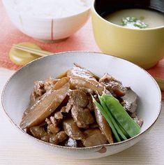 ごぼうと鶏肉のうま煮