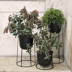 Wire Pot blomsterpotte - svart - Menu