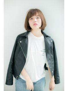 【Euphoria】大人カジュアルナチュラルボブ☆小田 亮 Denim, Jackets, Style, Fashion, Down Jackets, Swag, Moda, Fashion Styles, Fashion Illustrations