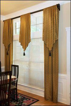 Curtains valances pelmets Roman blinds roller blinds poles