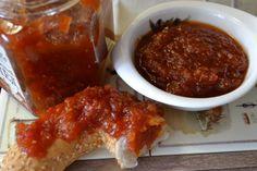 Пряный столовый мармелад из помидоров черри