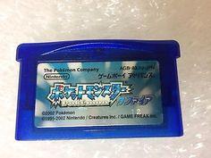 Pokemon Sapphire Game Boy Advance Japan Nintendo Pocket Monsters