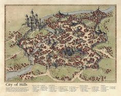 City of Hills 2015: Challenge Map by Traditionalmaps.deviantart.com on @DeviantArt
