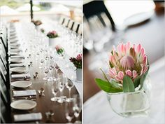 protea table ideas