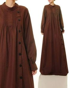 bffe1ea58 Brown Linen Dress Shirtdress Abaya Maxi Dress Brown Maxi Brown Maxi  Dresses, Plus Size Maxi