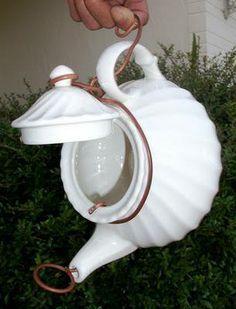 Teapot birdhouse | My own creations:-) | Pinterest | Birdhouses ...