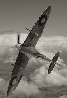 World War II in Pictures: Supermarine Spitfire - Classic RAF Fighter Ww2 Aircraft, Fighter Aircraft, Military Aircraft, Fighter Jets, Spitfire Supermarine, Image Avion, Photo Avion, The Spitfires, Ww2 Planes
