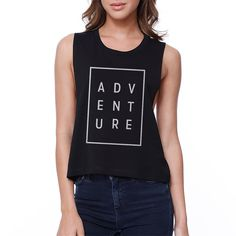Ladies, does a plain, solid, and stripe tank top seem too dull and boring to wear? Our crop top offers an exciting, casual, humorous, and laughter apparels. It is perfect for the young ladies and wome