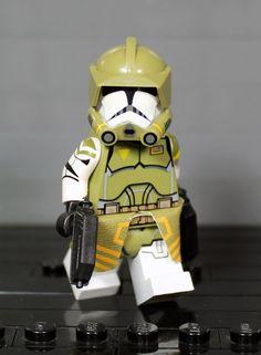 Lego Custom Clones, Lego Clones, Custom Lego, Lego Custom Minifigures, Lego Minifigs, Star Wars Minifigures, Lego Technic, Star Wars Clone Wars, Lego Star Wars
