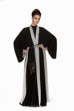 5a22b07f6 Modern abaya; Middle East Arab Fashion, Muslim Fashion, Modern Fashion,  Girl Fashion