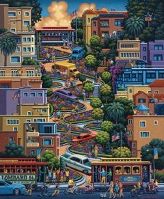 Lombard Street, by Eric Dowdle