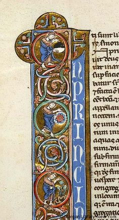 Bible, MS G.31 fol. 3v - Images from Medieval and Renaissance Manuscripts - The Morgan Library & Museum