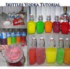 Skittles Vodka Tutorial