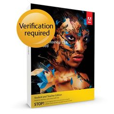 Adobe Photoshop Extended CS6 WIN Student and Teacher Edition