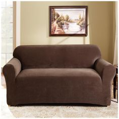 sure fit stretch pearson 3 pc sleeper sofa slipcover full lazy boy sets 26 best loveseat slipcovers images arredamento home homestyles by brown