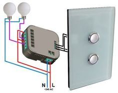 Z-Wave In-Wall Double Switch