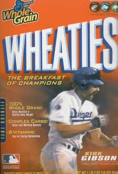 Posts about Kirk Gibson written by crzblue Baseball Stuff, Baseball Cards, Kirk Gibson, Detroit Tigers Baseball, Healthy Body Weight, Dodger Blue, Breakfast Of Champions, Los Angeles Dodgers, Baseball Players