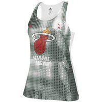 adidas Miami Heat Ladies Sublimated Sequin Tank Top - Black Sequin Tank Tops, Black Tank Tops, Nba Store, Miami Heat, Sport Wear, Athletic Tank Tops, Sport Clothing, Workout Clothing, Athletic Wear