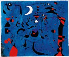 Constellation, People at Night 1940 Joan Mirò