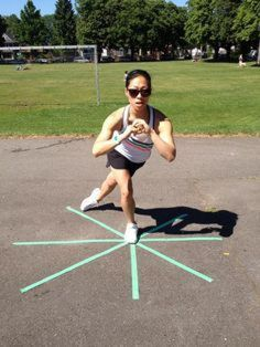 awesome Favourite Balance Exercise: The Star Balance Health And Wellness, Health Fitness, Balance Exercises, Ankle Exercises, Everyday Workout, Athletic Training, Roller Derby, Roller Skating, Physical Therapy