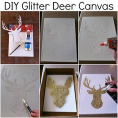 definitely wouldn't do a deer, but I like the idea of this!