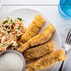 How to Make the Best Fish Sticks for Easy Family Dinners | Epicurious.com - need to experiment and see if the kids go for this one!