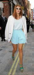 Gemma Arterton, London Fashion Week