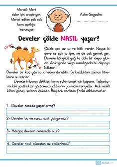 Learn Turkish, Turkish Language, Class Activities, Learning, Math, Turkish People, Reading, Classroom Activities, Studying