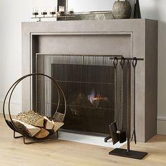 Sabrina Fireplace Screen | Fireplace screens, Screens and House
