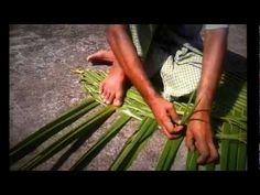 LINGERING LOLLIPOPS...Reliving the Bygone. Coconut Palm Fronds Weaving