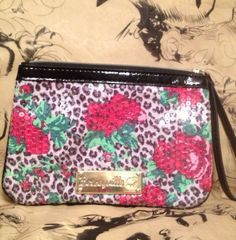 Sequined BETSEYVILLE By BETSEY JOHNSON - Multi-Colored Sequined Wristlet