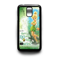 Disney Tinkerbell Quote Samsung Galaxy S3 S4 S5 Note 2 3 4 HTC One M7 M8 Case