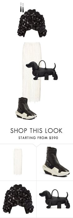 """Untitled #2560"" by sweetie ❤ liked on Polyvore featuring Chloé, Y-3, Thom Browne and Ivanka Trump"